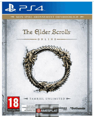 Elder Scrolls Online PS-4 D1 AT Tamriel Unlimited
