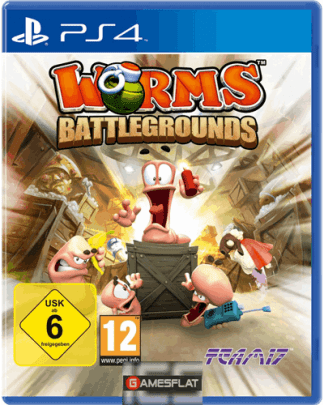 Worms Battlegrounds PS-4