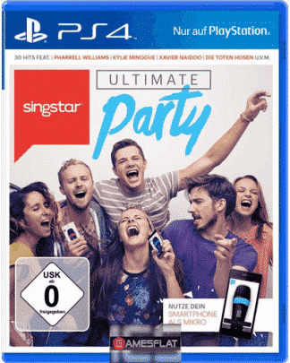 Singstar PS-4 Ultimate Party