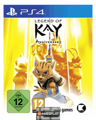 Legend of Kay Anniversary PS-4