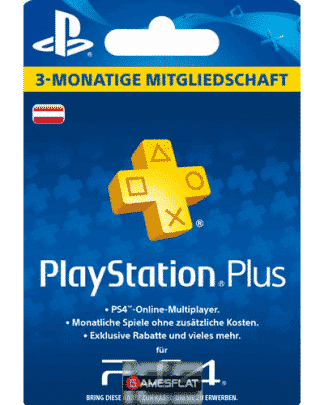 PSN LiveCard PLUS 3 Monate AT auch PSP PlayStation Network