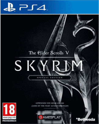 Skyrim PS-4 S.E. AT inkl 3 DLC The Elder Scrolls