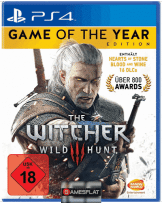 Witcher 3 PS-4 Wild Hunt GOTY