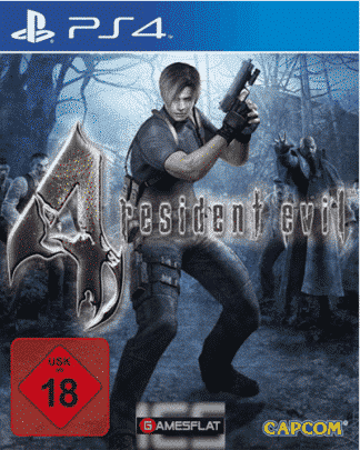 Resident Evil 4 PS-4 HD
