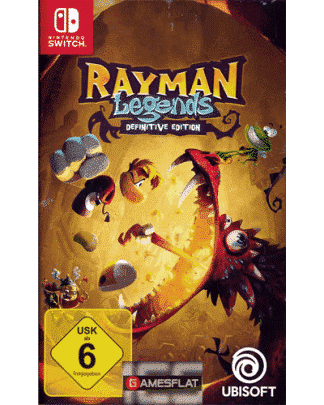 Rayman Legends Switch Definitive Edition