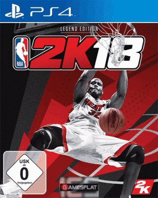 NBA 2k18 PS-4 Legend Edition