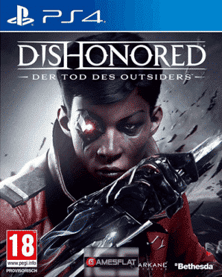 Dishonored 2 ADDON PS-4 AT Tod des Outsiders STANDALONE