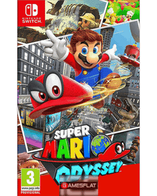 Super Mario Odyssey Switch UK