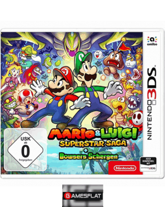 Mario & Luigi Super Star Saga 3DS + Bowser Schergen