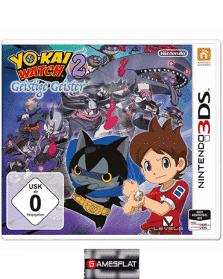 Yo-Kai Watch 2 3DS Geistige Geister
