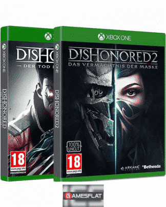 Dishonored 2 PACK XB-ONE AT Tod des Outsiders + Dishonored 2
