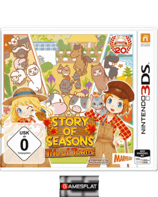Story of Seasons 3DS Trio of Towns