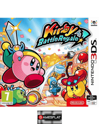 Kirby Battle Royale 3DS UK mutli
