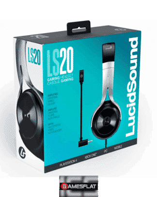 Multi Headset LS20 black PS-4