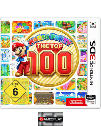 Mario Party Top 100 3DS