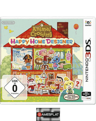 Animal Crossing Happy Home Des. 3DS ohne amiibo-Karte