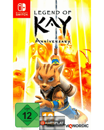 Legend of Kay Anniversary Switch