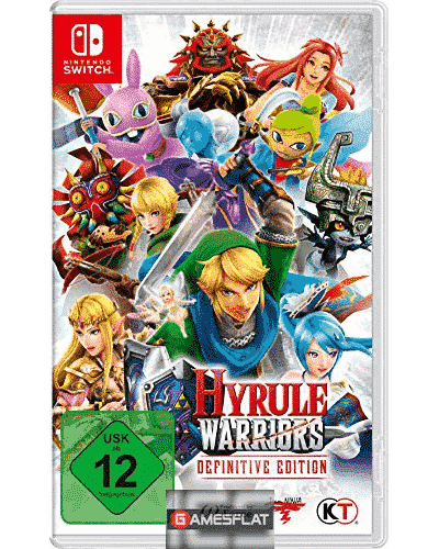Hyrule Warriors Switch Definitive Edition