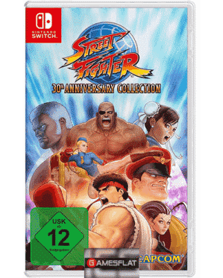 Street Fighter Switch Anniversary Coll
