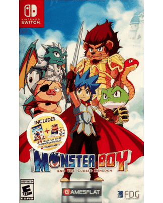 MonsterBoy Switch The Cursed Kingdom UK