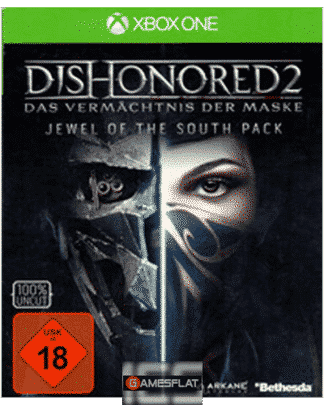 Dishonored 2 XB-One D1 MetalPlate Jewel of the South Pack