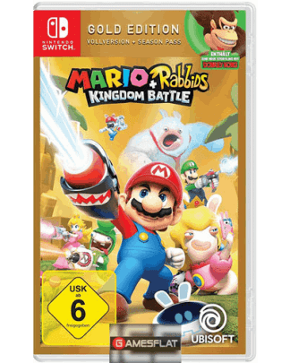 Mario & Rabbids Switch GOLD Kingdom Battle