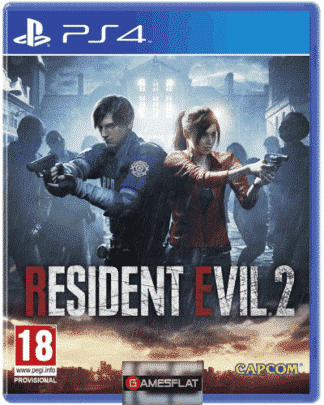 Resident Evil 2 PS-4 AT