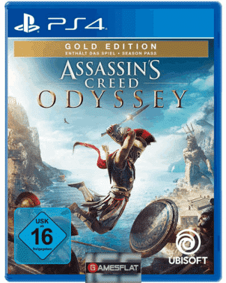 AC Odyssey PS-4 GOLD Assassins Creed Odyssey