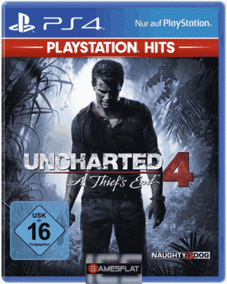 Uncharted 4 PS-4 PSHits A Thief''s End'