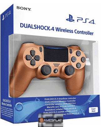 PS4 Controller org. copper wireless Dual Shock 4 UN 3481 Li-ion batteries contained in equipment
