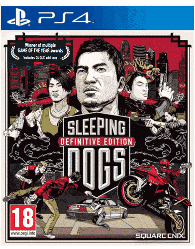 Sleeping Dogs Definitive Ed. PS-4 UK indiziert multi kein Retourenrecht - One shoot