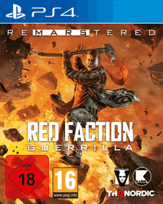 Red Faction Guerilla RE-Mars-tered PS-4