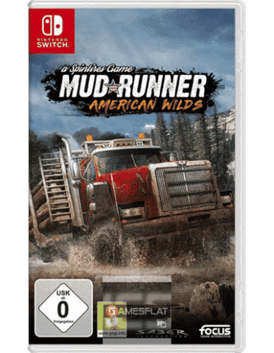 Spintires: MudRunner Switch American W American Wilds Edition