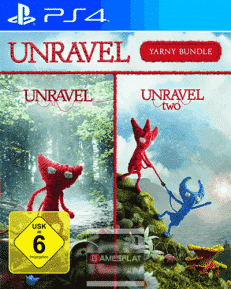Unravel PS-4 Yarny Bundle Teil 1+2