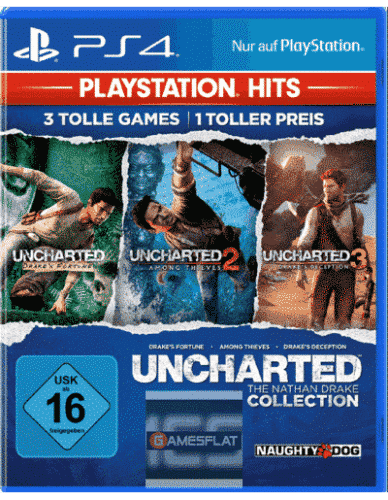 Uncharted N.Drake Coll. PS-4 PSHits