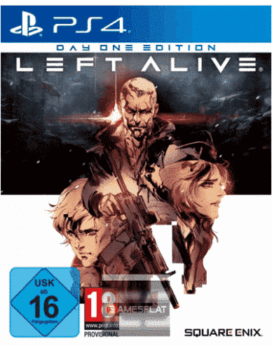 Left Alive PS-4 D1