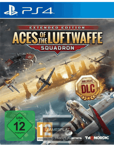 Aces of the Luftwaffe PS-4 Squadron Edition