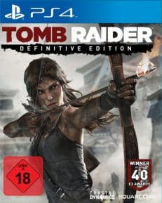 Tomb Raider DISC USK PS4 Definitive Ed.