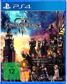 Kingdom Hearts 3 DISC USK PS4