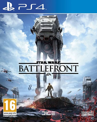 SW Battlefront  PS-4  AT Star Wars