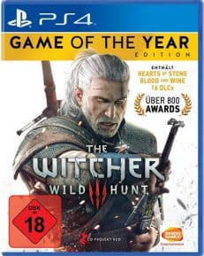 Witcher 3 GOTY DISC USK PS4