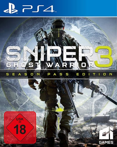 Sniper Ghost Warrior 3  PS-4  S.E. Inkl. Escape of Lydia