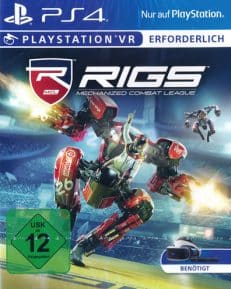 VR RIGS: Mechanized Combat League DISC USK PS4