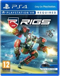 VR RIGS: Mechanized Combat League DISC PEGI PS4