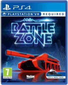 VR Battlezone DISC PEGI PS4