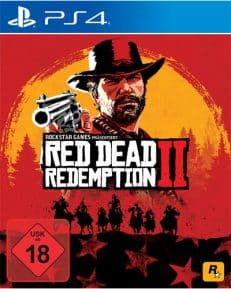 Red Dead Redemption 2 DISC USK PS4