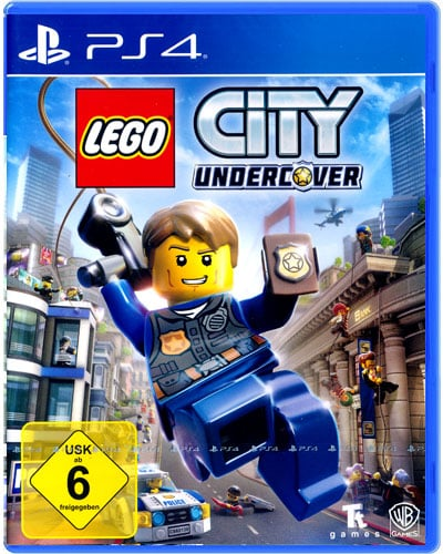 Lego City Undercover DISC AT PS4