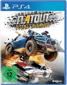 Flatout Total Insanity  PS-4