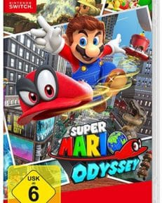 Super Mario Odyssey CARD USK Switch