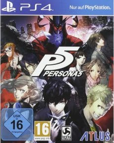Persona 5 DISC USK PS4